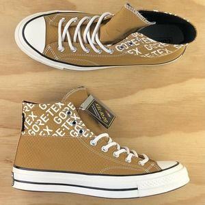 Converse Chuck Taylor 70 Goretex Gold White Shoes